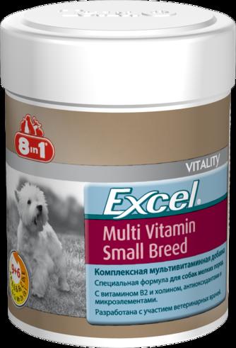 Эксель Мультивитамины для собак мелких пород, 70 таб. (арт.109372)