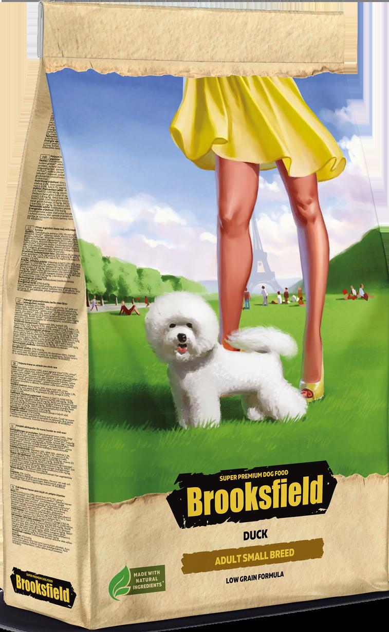 BROOKSFIELD ADULT SMALL BREED Утка/рис 700гр