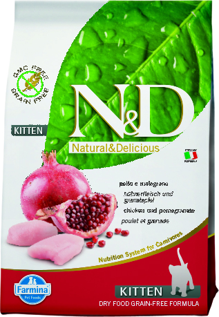 N&D Cat Chicken & Pomegranate Kitten 1,5 кг.