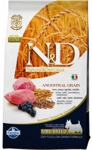 Farmina N&D Low Grain Lamb & Blueberry Adult Mini 2,5 кг