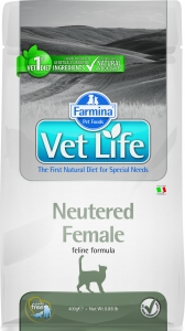 Farmina Vet Life Cat Neutered Female 2 кг.