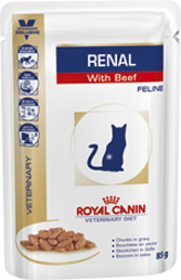 Renal With Beef Feline 85гр