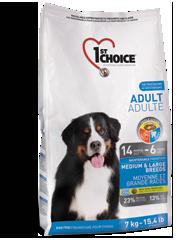 1st Choice для собак средних и крупных пород, цыпленок, 15кг