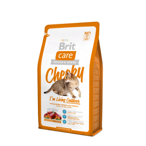 Brit Care Cat Cheeky I´m Living Outdoor, 7кг