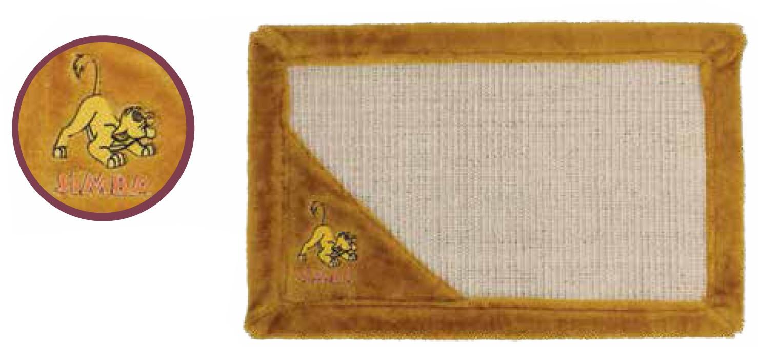 Когтеточка коврик Simba, 550х350 мм
