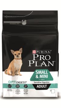 Pro Plan Small & Mini Sensitive Ягненок с рисом 3 кг
