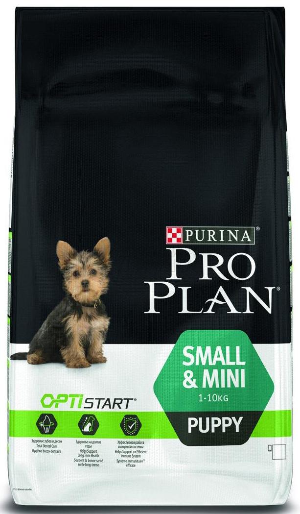 Pro Plan Small & Mini Puppy Курица с рисом 3 кг