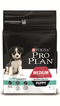 Pro Plan Medium Sensitive Puppy  Ягненок с Рисом 12 кг