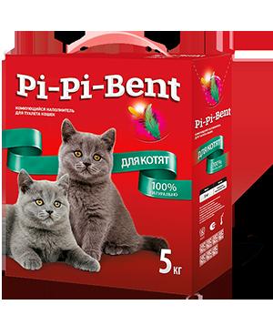 Pi-Pi-Bent для котят, 5кг