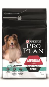 Pro Plan Medium Sensitive Adult Ягненок с Рисом 14 кг