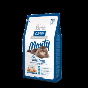 Brit Care Cat Monty I´m Living Indoor, 2кг