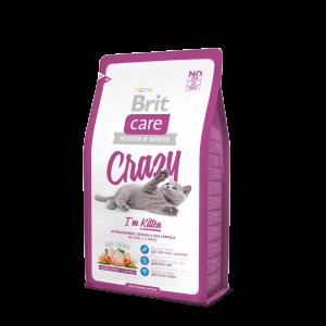 Brit Care Cat Crazy I´m Kitten, 7кг