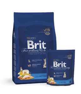 Brit Premium Cat Kitten Chicken, 8 кг