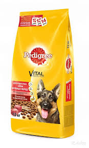 Pedigree для взрослых собак крупных пород 2,2кг