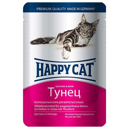 Happy Cat Тунец 85гр ПАУЧ