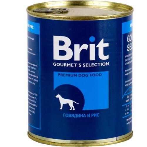 Brit Beef & Rise с Говядиной и Рисом 850гр