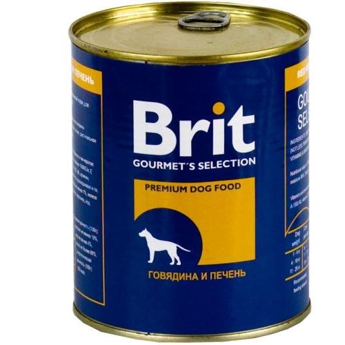 Brit Beef & Liver с Говядиной и Печенью 850гр