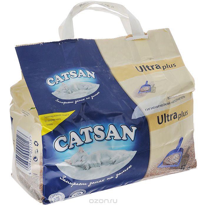 Наполнитель комкующийся Catsan 5 л