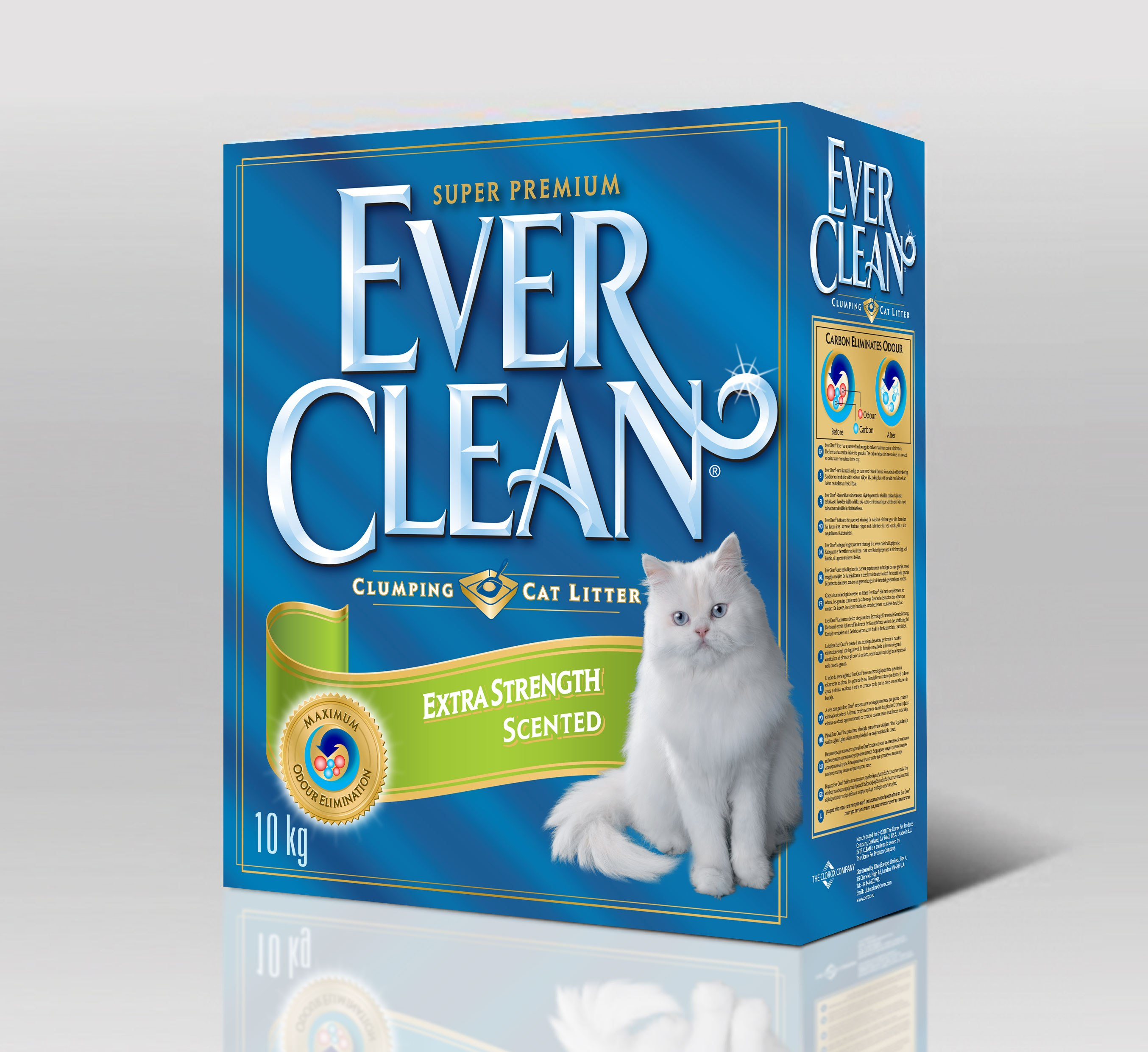 EVER CLEAN Extra Strength Scented 10 л