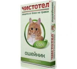 Ошейник Чистотел Био репеллентный для кошек