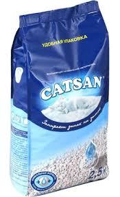 Наполнитель впитывающий Catsan 2.5 л