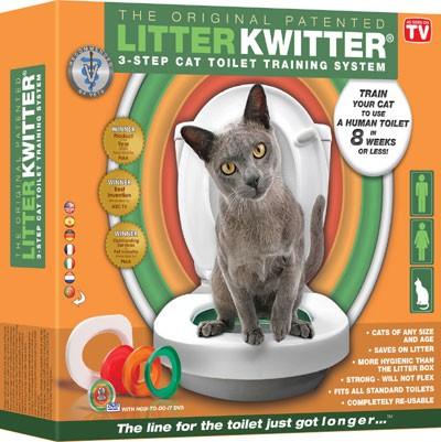 Litter Kwitter - оригинальная система для приучения кошки к туалету