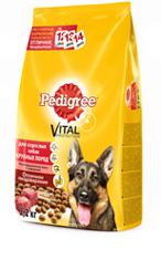 Pedigree для взрослых собак крупных пород 13кг