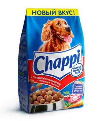 Chappi с говядиной по домашнему 15кг