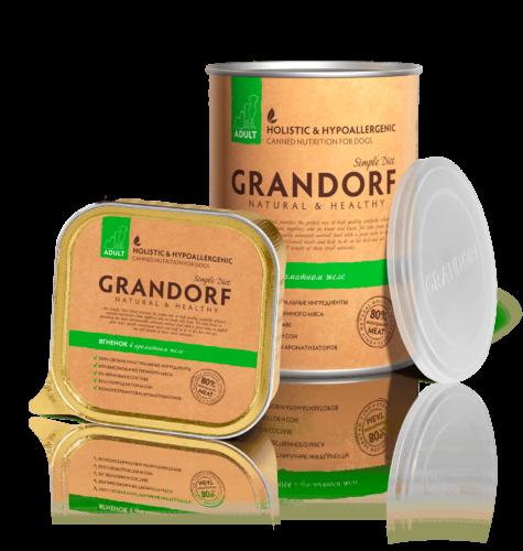 Grandorf консервы с Ягненоком, 400 гр