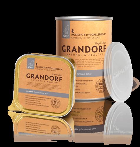 Grandorf консервы с Кроликом, 400 гр