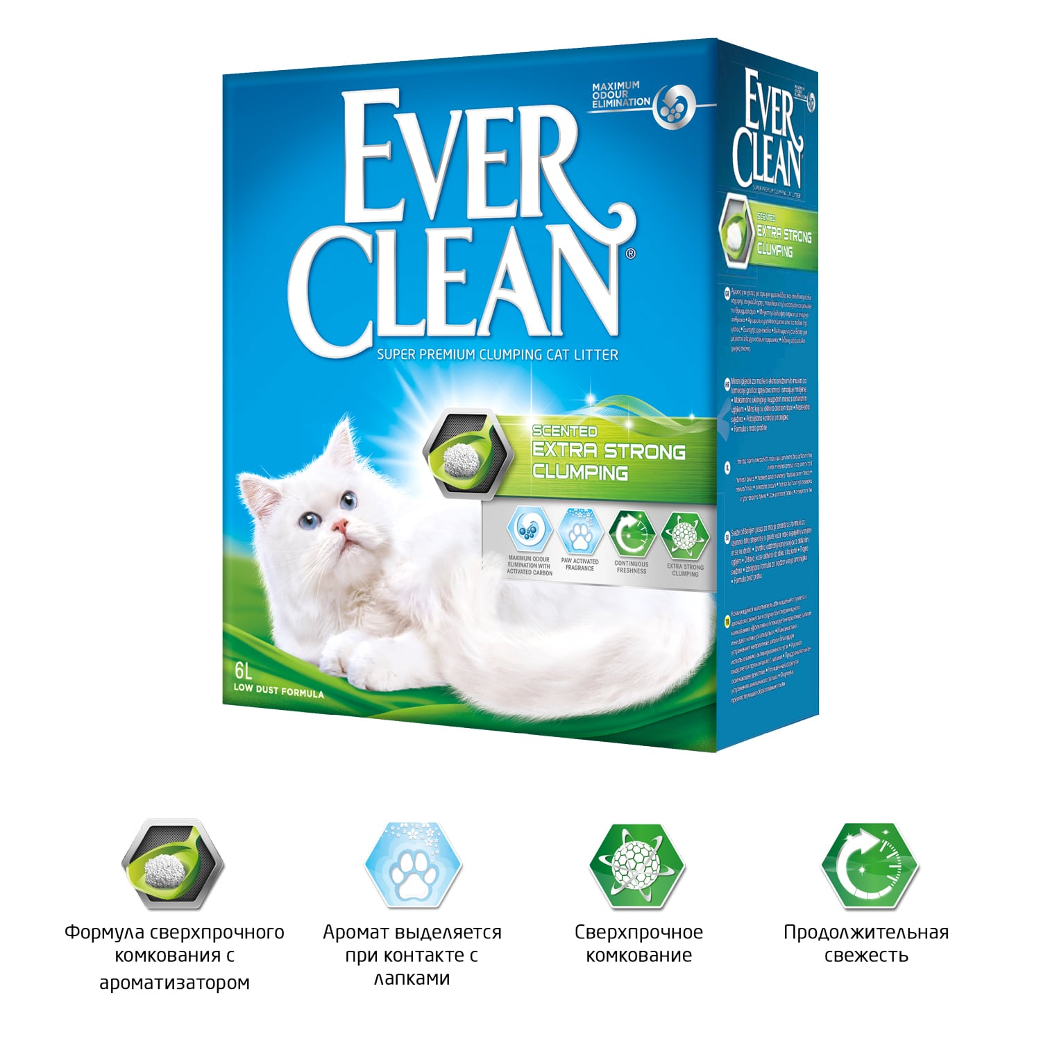Ever Clean Extra Strong Clumping Scented, 10 л