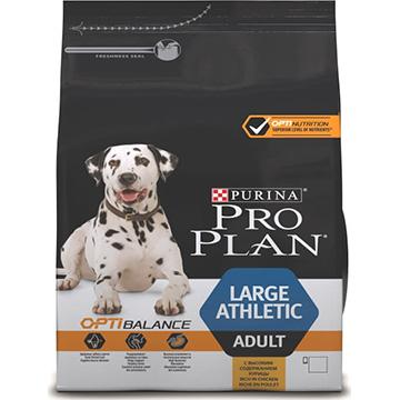 PRO PLAN® OPTIBALANCE® для взрослых собак крупных пород атлетического телосложения, с курицей, 14кг