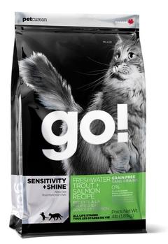 GO! NATURAL Sensitivity + Shine Форель, Лосось 7,26 кг