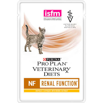 PRO PLAN® VETERINARY DIETS NF RENAL FUNCTION  с курицей, 85 гр