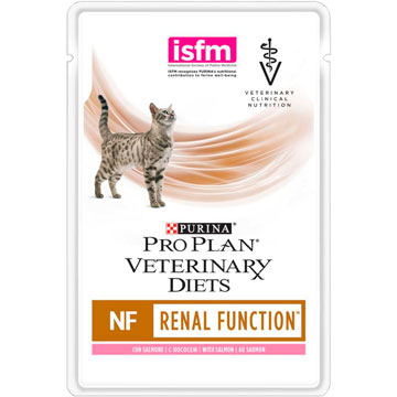 PRO PLAN® VETERINARY DIETS NF RENAL FUNCTION с лососем, 85 гр