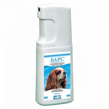 Барс Спрей для собак инсектоакарицидный, 200мл