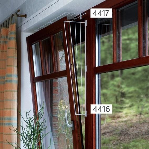 Решетка защитная на окна, боковая панель (арт.4416)