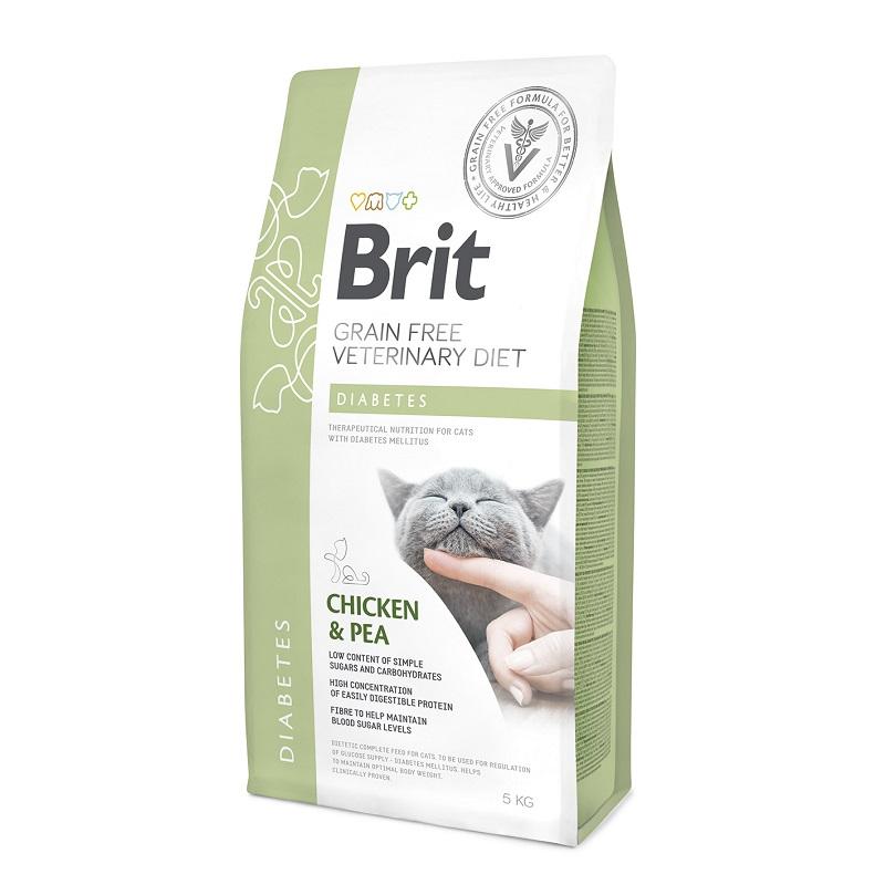 Brit Veterinary Diet Cat Grain free Diabetes, 2кг
