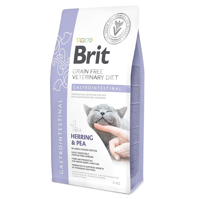 Brit Veterinary Diet Cat Grain free Gastrointestinal, 2кг