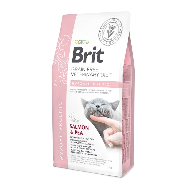 Brit Veterinary Diet Cat Grain free Hypoallergenic, 2кг