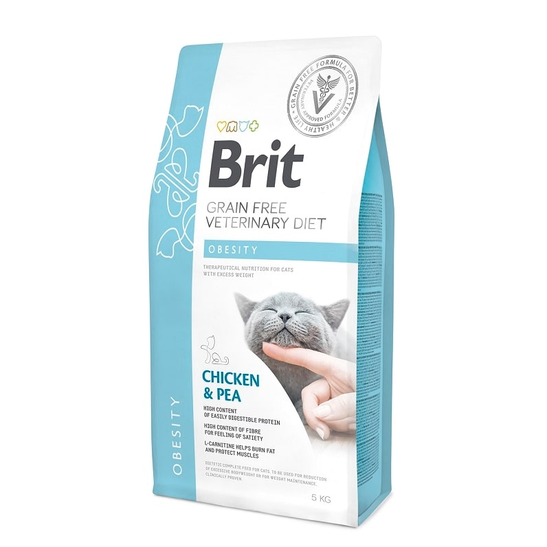 Brit Veterinary Diet Cat Grain free Obesity, 2кг