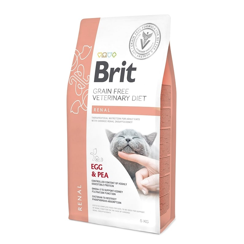 Brit Veterinary Diet Cat Grain free Renal, 2кг