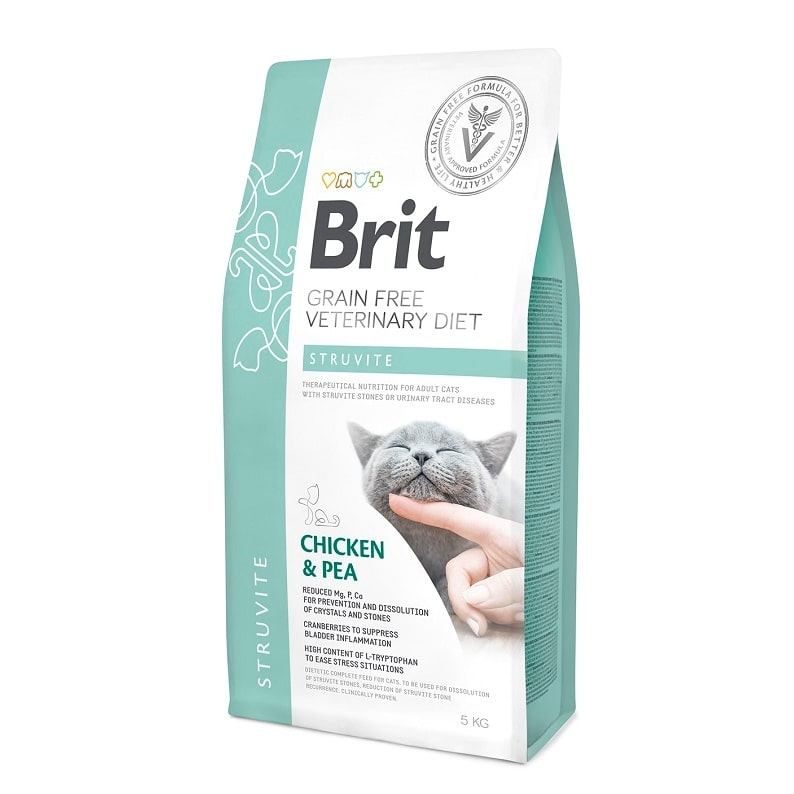 Brit Veterinary Diet Cat Grain free Struvite, 2кг