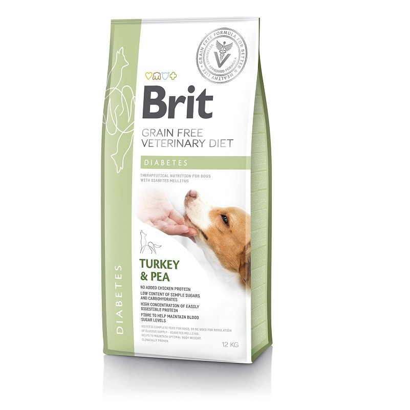 Brit Veterinary Diet Dog Grain Free Diabetes, 2кг
