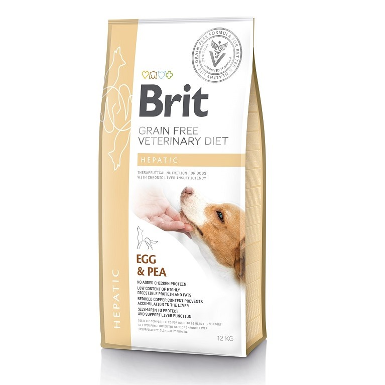 Brit Veterinary Diet Dog Grain Free Hepatic, 2кг