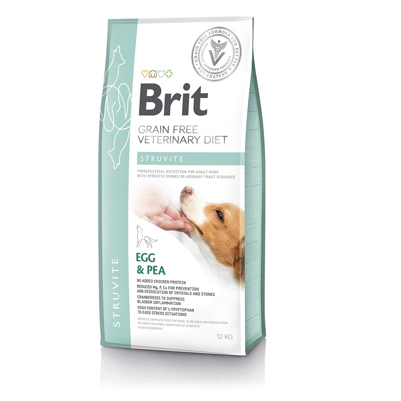 Brit Veterinary Diet Dog Grain free Struvite, 2кг