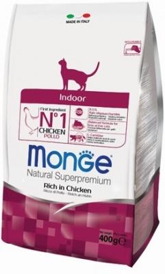 Monge Indoor Cat 10 кг