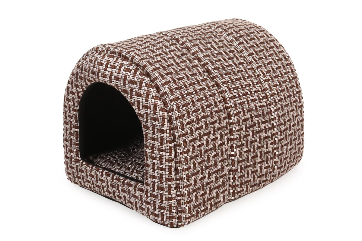 Дом для животных PerseiLine Туннель, светло-коричневый, размер L , (ДМС-28)