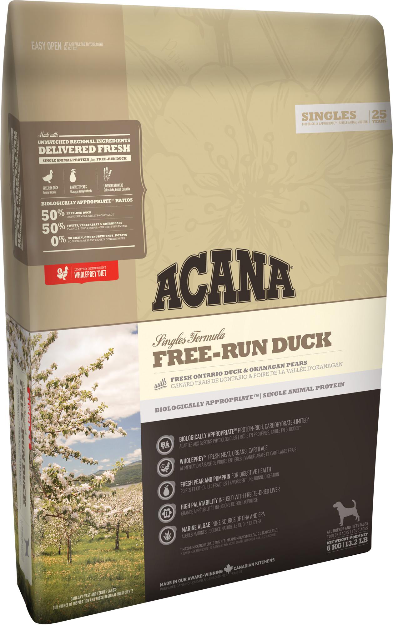 ACANA FREE-RUN DUCK (Утка) 11,4 кг