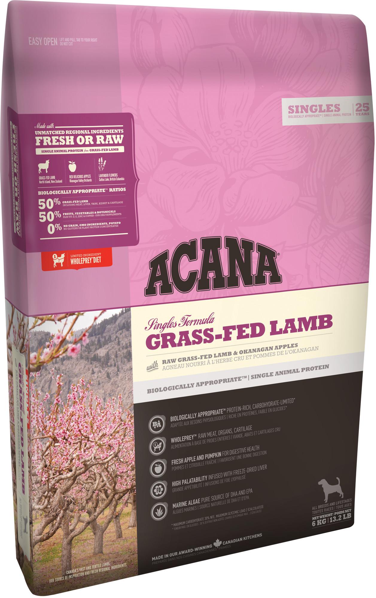 ACANA GRASS-FED LAMB (Ягненок) 2 кг